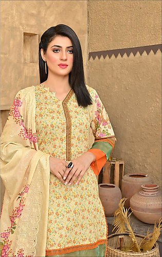 Maan Suraya Lawn Shirt with Embroidered Voile Dupatta Mother's Collection Dania…