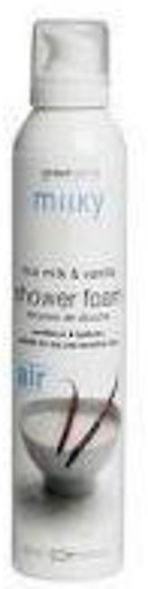 Greenland Bodycare Milky Shower Mousse Rice Milk - Vanilla - 200Ml - MY0021