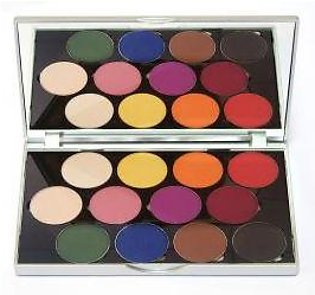 Stageline Sphere Eye Shadow Palette - Matte - 01-22-00019
