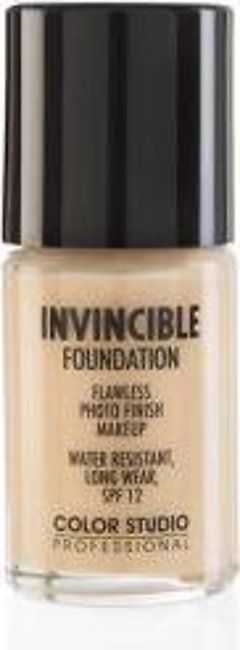 Color Studio Invincible Pro Foundation - W20 Nude Beige
