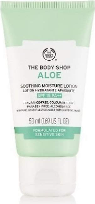 The Body Shop Aloe Soothing Moisture Lotion SPF15 - 50ml - 52898