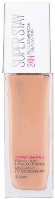 Maybelline Superstay 24H Full Coverage Liquid Foundation - 30 Sand - 1608 - 360…