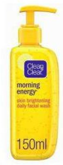 Clean & Clear Facial Wash Morning Energy, Skin Brightening - 150ml - 35746606...