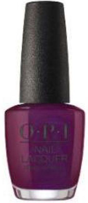 OPI Nail Lacquer - And The Raven Cried Give Me More - 15ml - MB