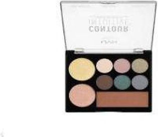 NYX Contour Intuitive Eye and Face Sculpting Palette - Smoke & Pearls - CIP05...