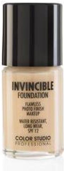 Color Studio Invincible Pro Foundation - W25 Soft Beige