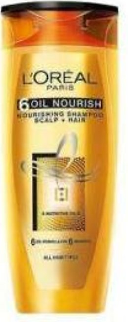 L'Oreal Paris 6 Oil Nourish Shampoo 360ml - 1068 - 3610340184536