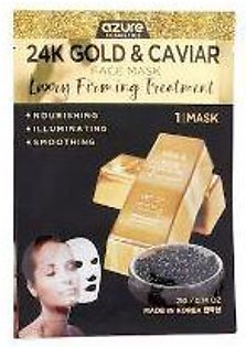 Azure Lux 24k Gold & Caviar Face Mask - 1 Mask