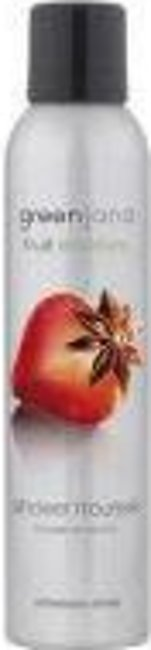 Greenland Bodycare Fruit Emotions Shower Mousse Strawberry-Anise - 200 Ml - F...