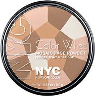NYC Color Wheel Mosaic Face Powder - Translucent Highlighter Glow - NY722A