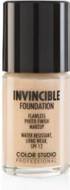 Color Studio Invincible Pro Foundation - C10 Nude Ivory