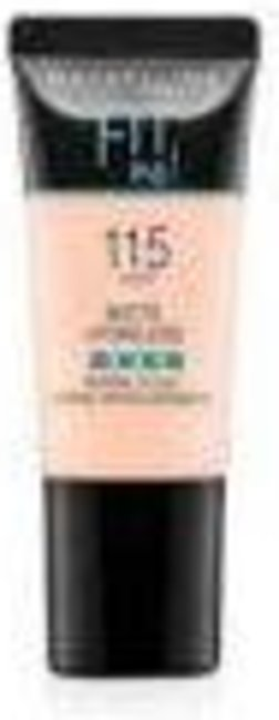 Maybelline Fit Me Foundation Matte Pore - 115 - 18ml - 1710 - 6902395722403