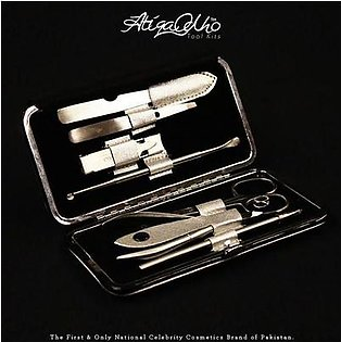 Atiqa Odho Color Cosmetics Silver Manicure & Pedicure Kit - SK