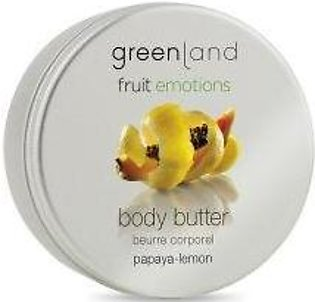 Greenland Bodycare Fruit Emotions Body Butter Papaya-Lemon - 100Ml - FE0051