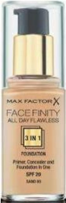 Max Factor Facefinity 3-IN-1 Foundation - Sand - 60 - 3614225851636