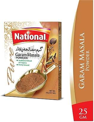 National Garam Masala Powder 25 G