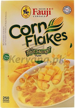 Fauji Corn Flakes Real Mango 250 Grams