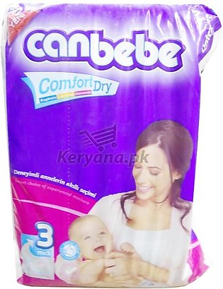 Canbebe Baby Diapers Midi   Size 3 ( 08 Pcs)