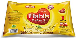 Habib Cooking Oil Pouch 1 L