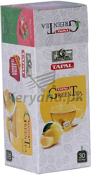 Tapal Green Tea Lemon   30 Packs
