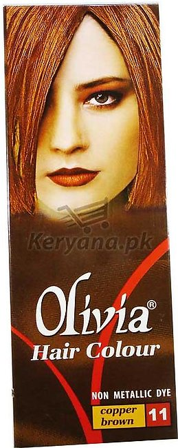 Olivia Hair Color Copper Brown 11   50 ML