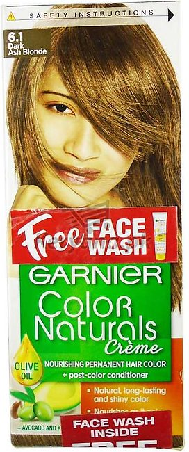 Garnier Hair Colour Dark Ash Blonde 6.1