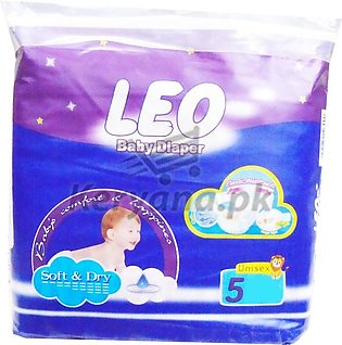 Leo Baby Diapers Soft & Dry   Size 5 (20 Pcs)