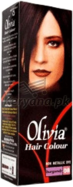 Olivia Hair Color Burgundy 08   50 ML