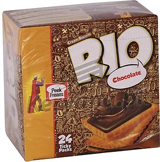Peek Freans Rio Chocolate 24 Ticky Packs