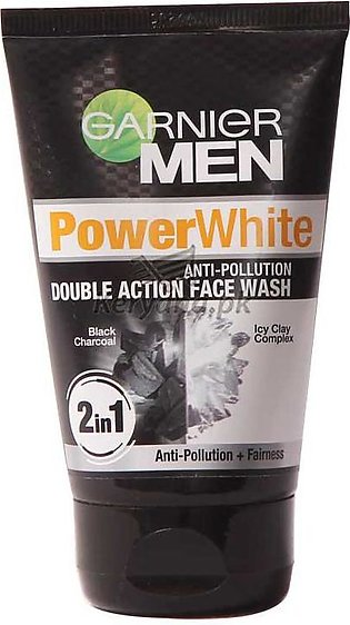Garnier Men Power White Super Duo Foam Face Wash 100 G