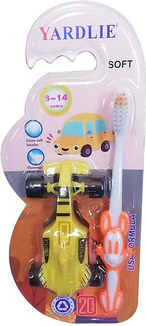 Yardlie Toothbrush for Children With Toys