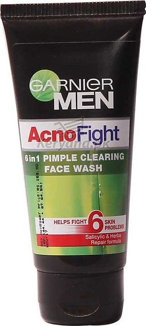 Garnier Men Acno Fight 6 In 1 Pimple Clearing Face Wash 50 G
