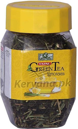 Tapal Green Tea Lemon Grass Jar 100 G