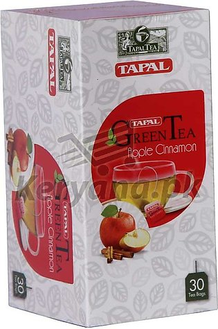 Tapal Green Tea Bags   30 Tea Bags   Apple & Cinnamon