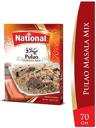 National Pulao Masala Mix 70 G