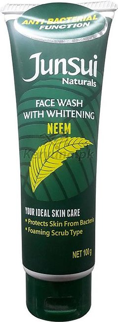 Junsui Natural Face Wash Neem 100 G