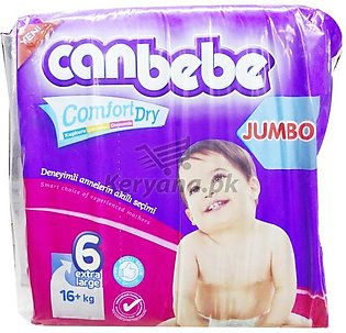 Canbebe Baby Diapers Extra Large   Size 6 (24 Pcs)