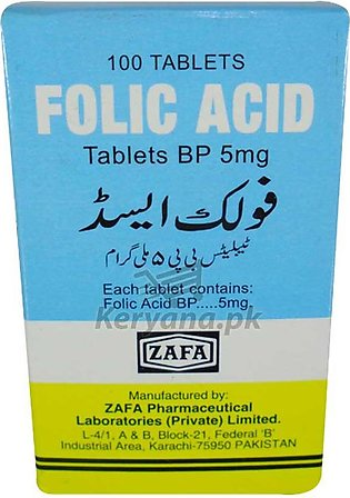 Folic Acid 100 Tablets