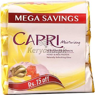 Capri Moisturizing  Aloe Vera Honey & Protein Milk Soap 115 G X 3 Packs