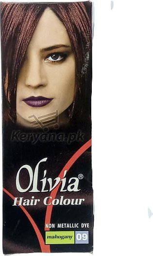 Olivia Hair Color Mahogany 09   50 ML