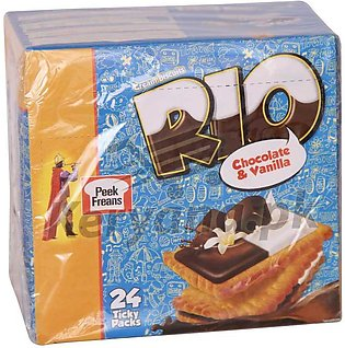 Peek Freans Rio Chocolate & Vanilla 24 Ticky Pack