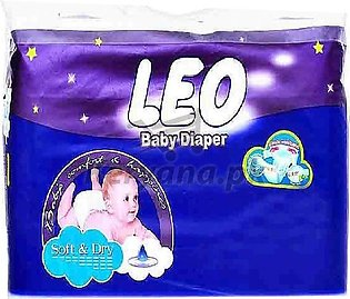 Leo Baby Diapers Soft & Dry   Size 1 (34 Pcs)