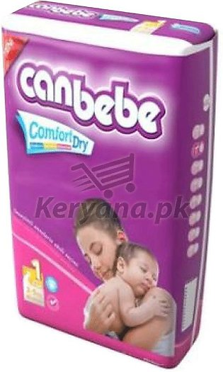 Canbebe Baby Diapers New Born    Size 1 (14 Pcs)