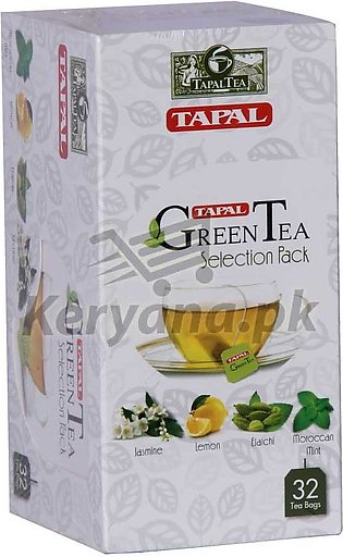 Tapal Green Tea Bags   32 Tea Bags   Selection Pack
