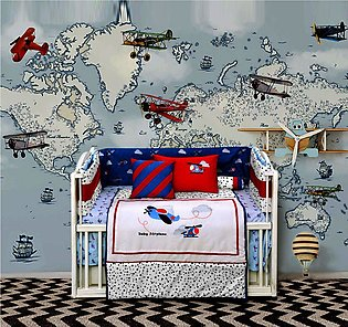 BABY COT SET BABY AIRPLANE