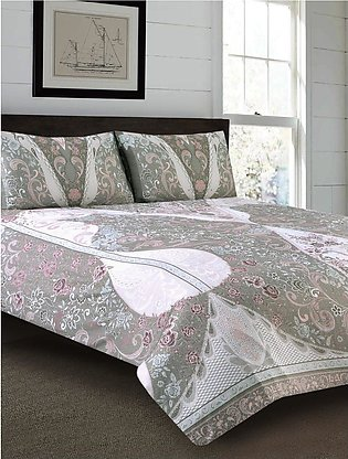 Gracious Lace Bed Sheet