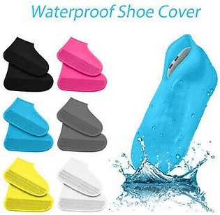Non-Slip Silicone Rain Boot Shoe Cover Large Size 41 to 45