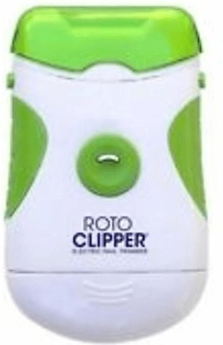 Roto Clipper Electric Nail File Trimmer Cordless