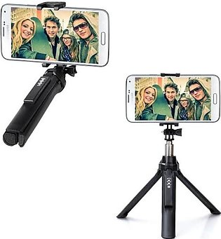 Gepro Selfie Stick Plus Mobile Tripod Stand With Bluetooth Remote