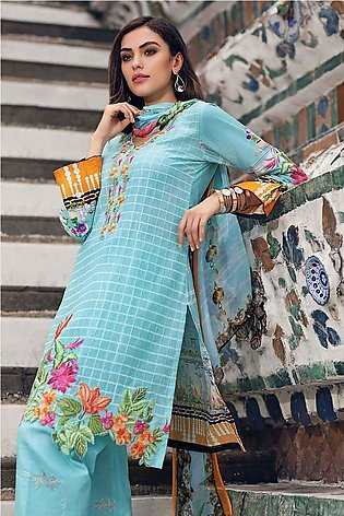 Gul Ahmed Summer Special Edition Blue SSM-01